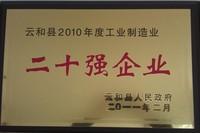 2010工业二十强