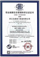 职业健康安全管理体系GB/T28001