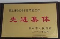 2009先进企业