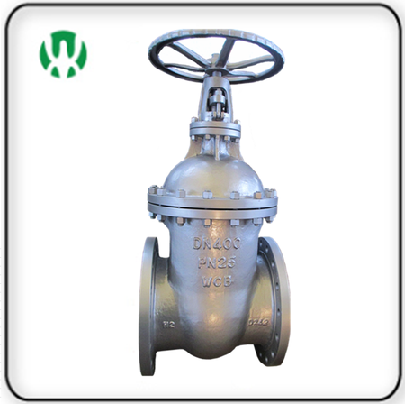 DIN Big Size Non-rising Stem Gate Valve