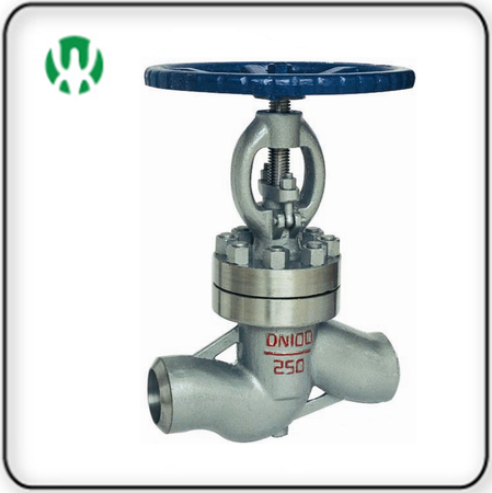 High pressure welding cut-off valve